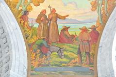 Spanish Missionaries Mural, Utah State Capitol