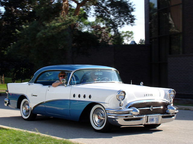 1955 buick century 4 door hardtop flickr photo sharing