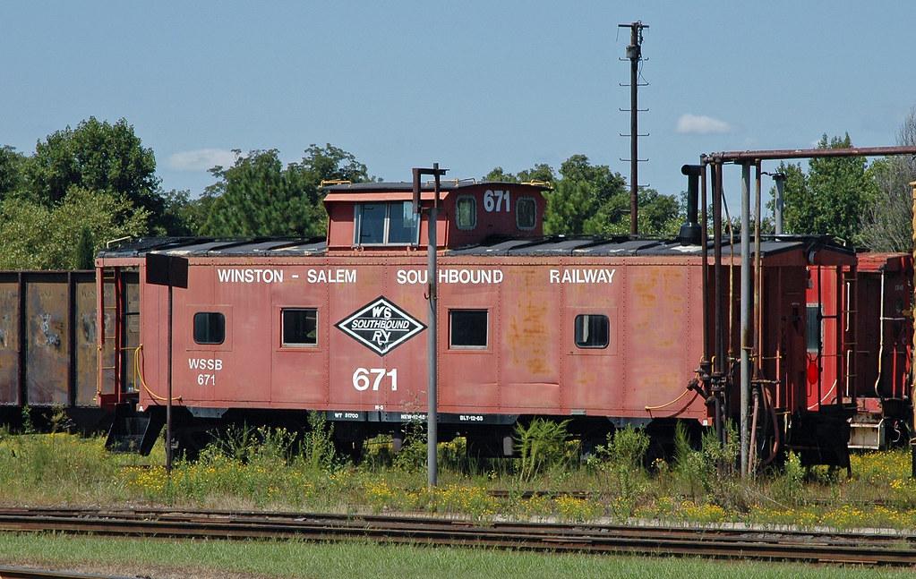 Winston-Salem Southbound Railway Caboose # 671