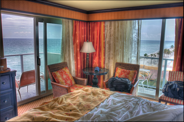 Room View, Hollywood Beach Marriot