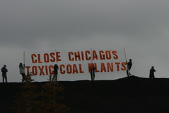 Activists Occupy Chicago Coal Plant