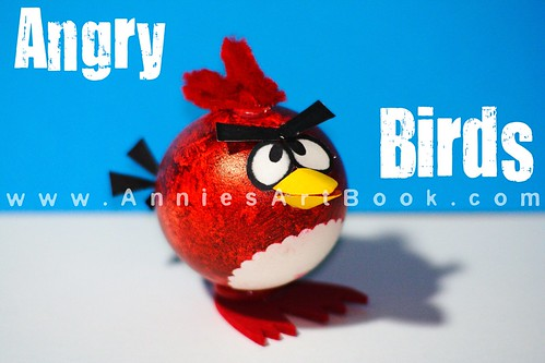 Annie 39 s art book art craft angry birds easter egg for Angry birds decoration ideas