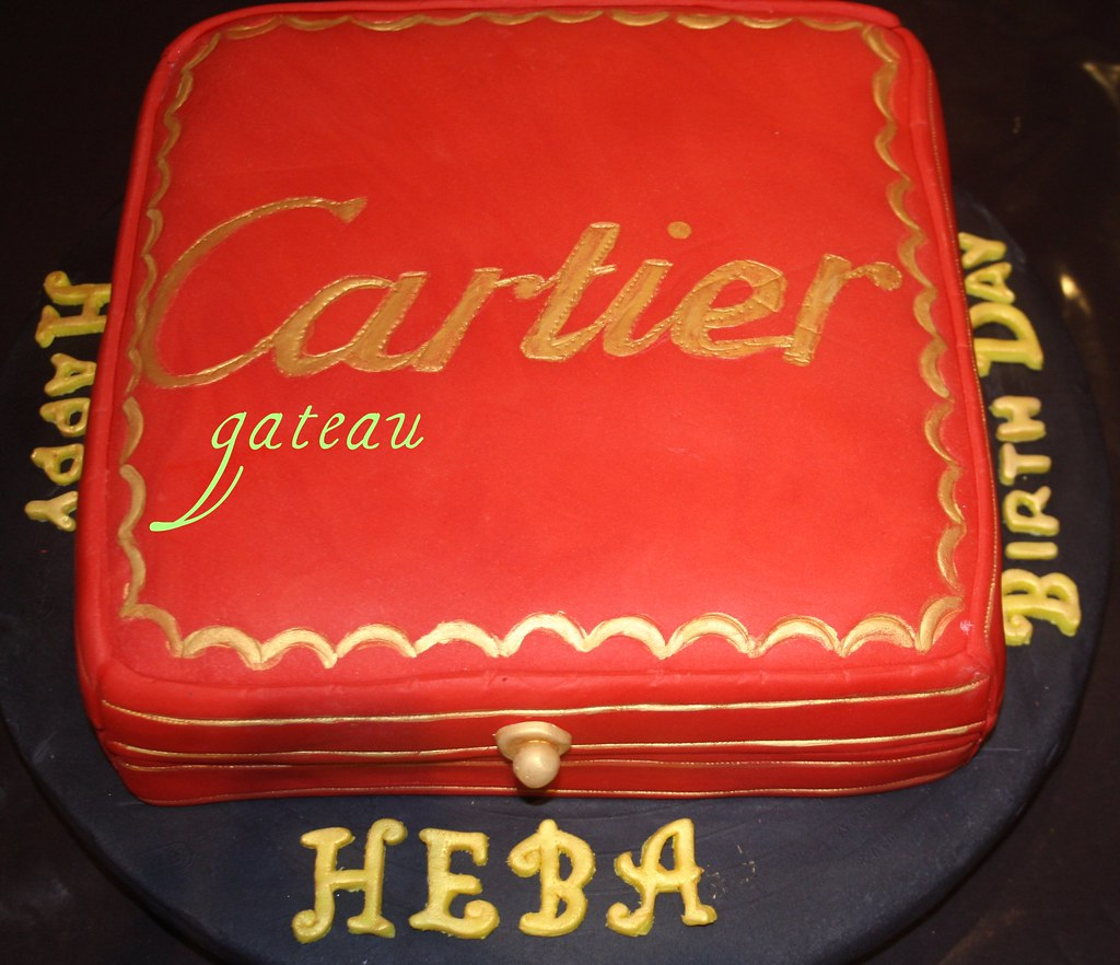 Cartier Box Cake A Photo On Flickriver