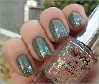 Erin Hits + Glitter Chinês + 167 Nyx Girls
