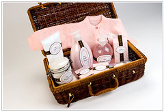 hamper, brown, wicker, gift basket, basket,