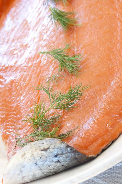 Smoked salmon from MEKK / Imemaitsev suitsulõhe restoranist MEKK