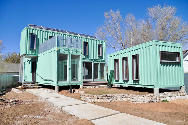 Shipping container house flickr photo sharing - Container homes arizona ...