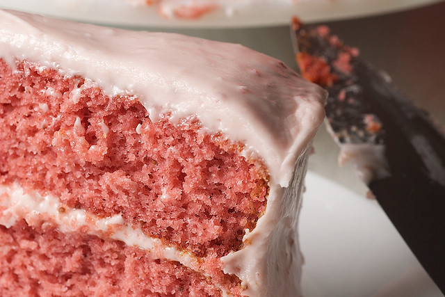 Strawberry Cake with Strawberry Cream Cheese Frosting | Flickr - Photo ...