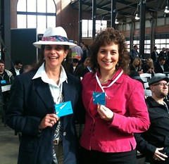Dee Davey & Deb Nystrom at Future Midwest 2011