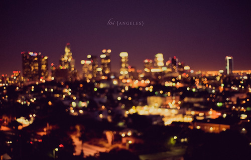 Los Angeles Skyline - OOF