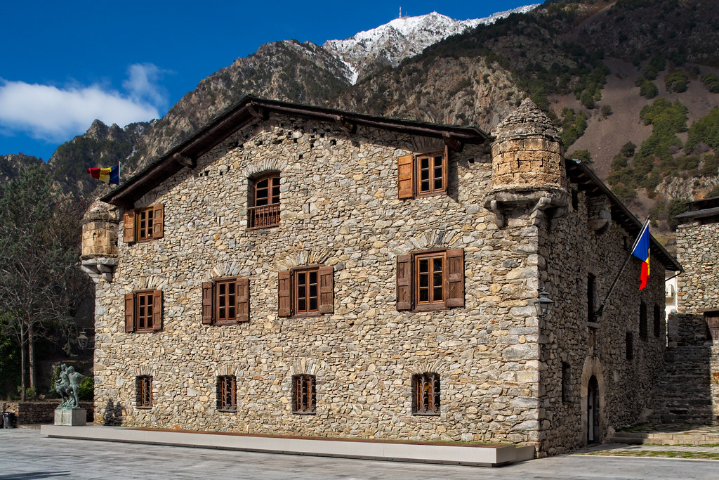 La Casa de la Vall, the old government building of Andorra