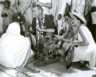 Vice President Lyndon Johnson in India