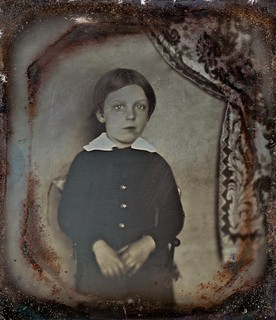 Is Anybody There?, 1/6th-Plate Scovill Daguerreotype, Circa 1843