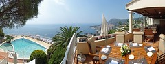 Vista Palace terrace, Monaco