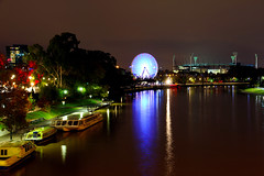 Yarra River at Night - Melbourne, Australia