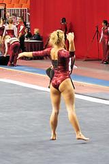 TWU Gymnastics [Floor] Brittany Johnson