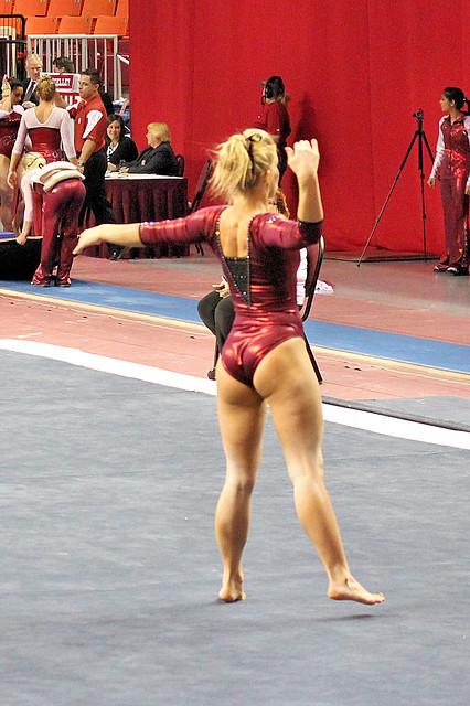 Twu Gymnastics Floor Brittany Johnson Flickr Photo
