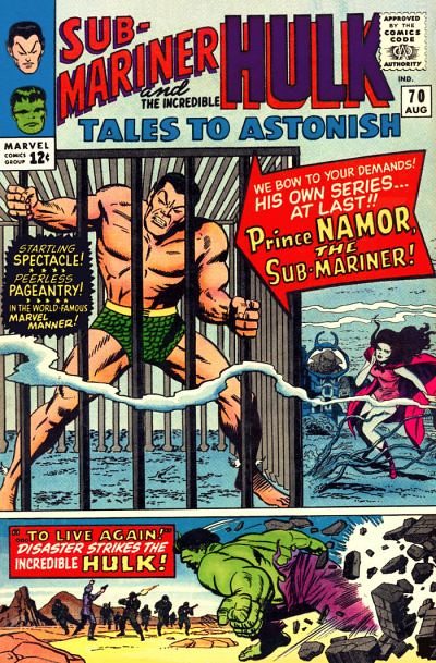 Tales to Astonish 070