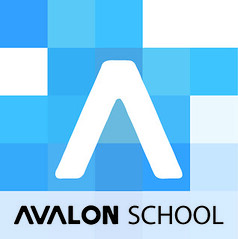 avalon logo blue