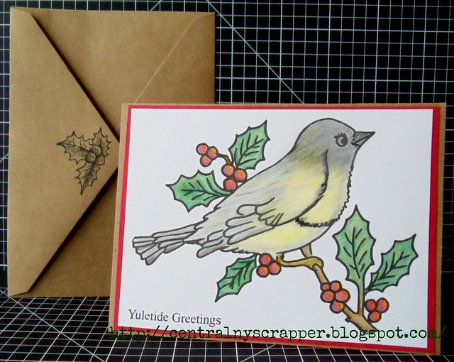 April 2014 Holiday Card with Envelope
