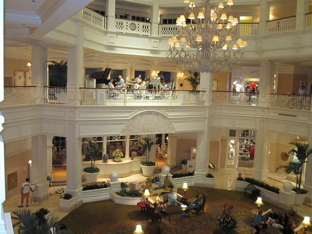 Grand Floridian Lobby Jazz Band