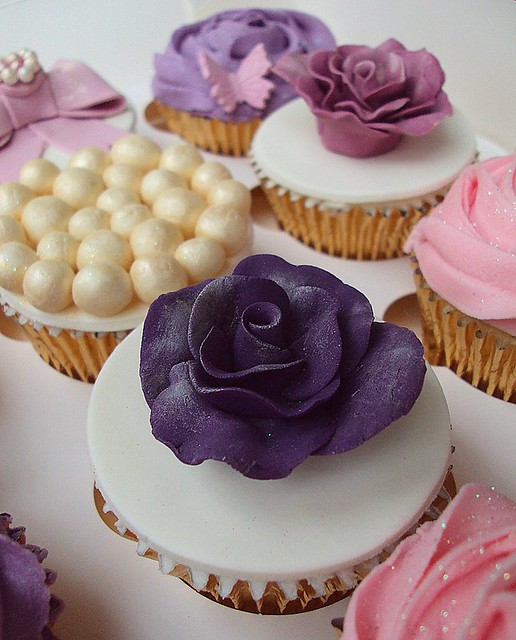 Vintage Wedding CupcakesNottingham
