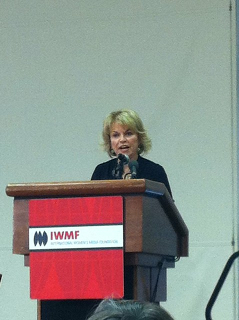 ... paleycenter gives inspiring remarks at Closing Luncheon at #iwmfconf