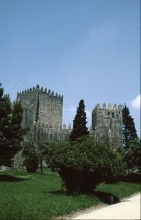 Image of Castelo de Guimarães. portugal europa 2000 2000s