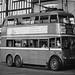 London transport B1 trolleybus 92 on route 654 Waddon