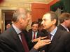 Zapatero con Fassino:rapporto a rischio contagio con la sinistra italiana