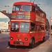 London transport C2 type trolleybus 308 on route 662.
