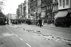 Koninginnedag riots in Amsterdam