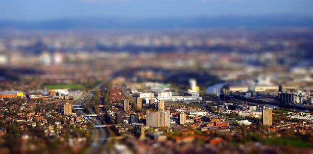 Manchester, tiltshift