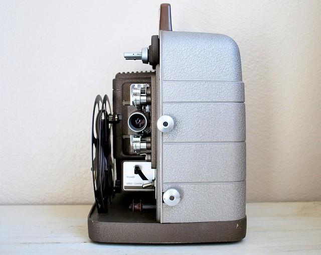 Vintage Bell & Howell Projectors http://www.flickr.com/photos/alpenglow_vintage/5587339000/