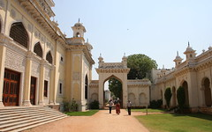 Gateway to the lesser palaces