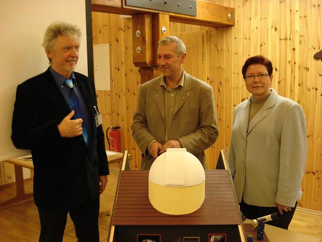 Eröffnung der Lichtsmog-Ausstellung