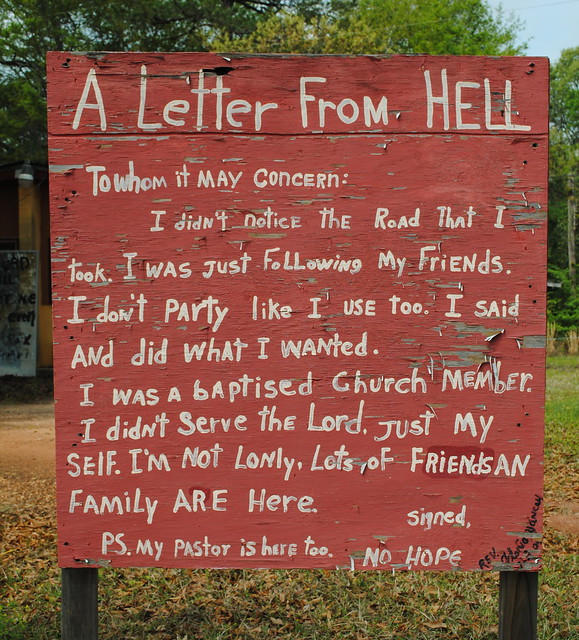Letter From Hell | Flickr - Photo Sharing!