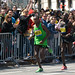 2011 Boston Marathon Mens Winner, Geoff Mutai by dprocks