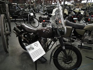 1965 BSA 650 motorcycle