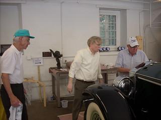 Volunteer Dick Carroll (left), Larry Murphy (right) with Greg Landrey (center) 2 April 20, 2011 kls
