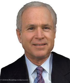 George W. Bush and John McCain Morphed