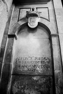 Obrázek Mosteiro de Alcobaça. bw portugal easter typography blackwhite páscoa bandw alcobaça mosteirodealcobaça
