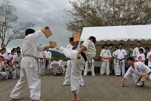 新極真会 東日本復興支援ボランティア活動