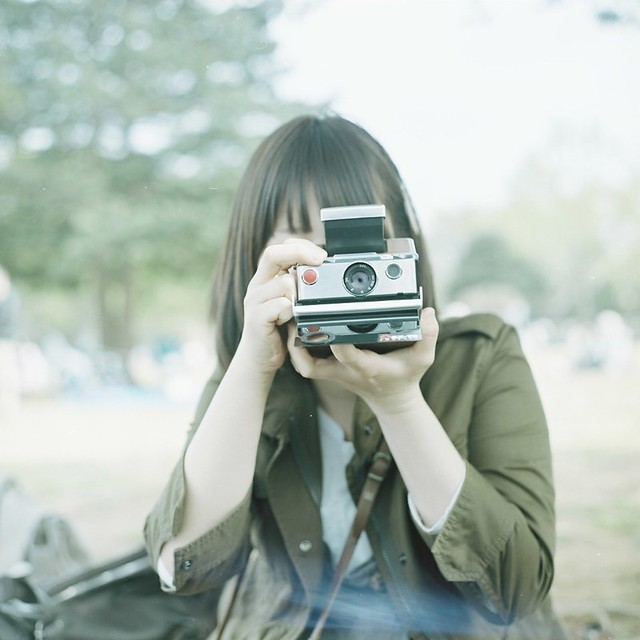 *polaroid girl