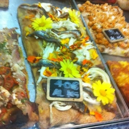 Quando Bonci dice che fa la pizza con i fiori, non intende quelli di zucca!