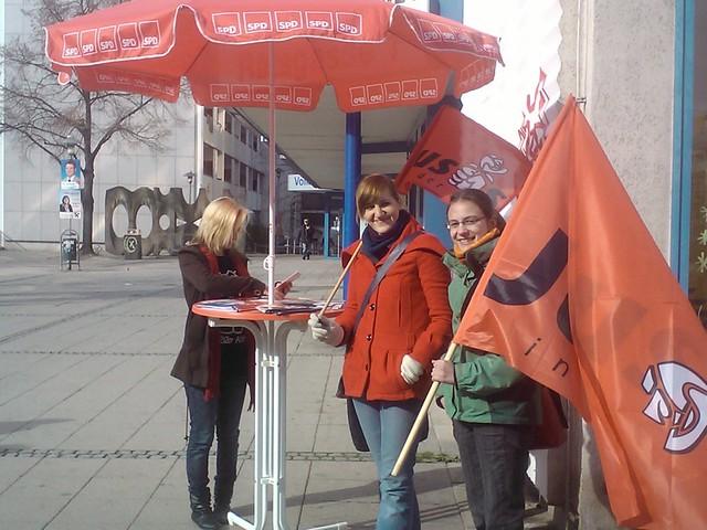Gegendemonstration zum Nazi Aufmarsch in Dessau-Roßlau 2011