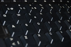 Computer Keyboard - stock photo
