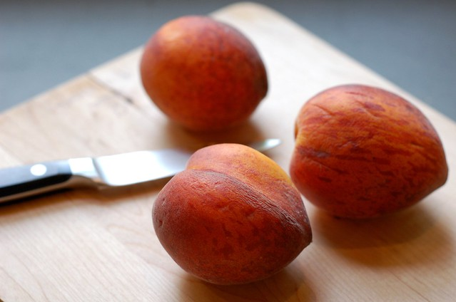 The Peaches by Eve Fox, Garden of Eating blog, copyright 2011