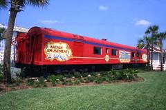 Circus World antique railway car: Orlando, Florida
