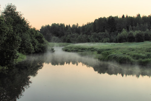 morning mist misty fog sunrise finland river dawn foggy steam atdawn atsunrise magicunicornverybest